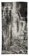 Wailua Waterfall 3 Beach Towel