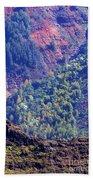 Waimea Canyon Color Beach Towel