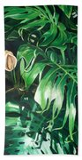 Waipeo Green Beach Towel