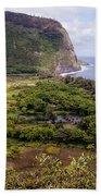Waipi'o Valley Beach Towel