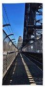 Walk Across Sydney Harbour Bridge Beach Towel