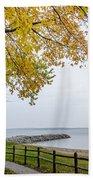 Walk Along The Shoreside Beach Towel