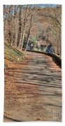 Walk In The Park Beach Towel