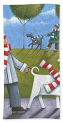 Walk In The Park Beach Towel by Peter Adderley
