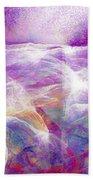 Walk On Water - Abstract Art Beach Towel by Jaison Cianelli