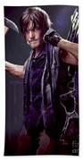 Walking Dead - Daryl Dixon Beach Towel