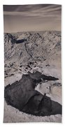 Walking On The Moon Beach Towel by Laurie Search