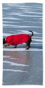 Walking On Water Beach Towel