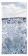 Walking On Water I Beach Sheet by Kevyn Bashore