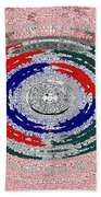 Walking The Streets Of Life Beach Towel