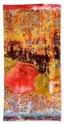 Wall Abstract 1 Beach Towel