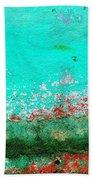 Wall Abstract 111 Beach Towel