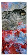 Wall Abstract 16 Beach Towel