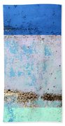 Wall Abstract 25 Beach Towel