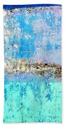 Wall Abstract 26 Beach Towel