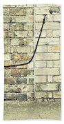 Wall And Wire Beach Towel