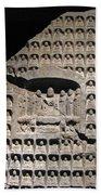 Wall Of Buddha Beach Towel