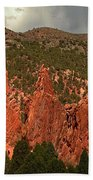 Wall Of The Gods Beach Towel
