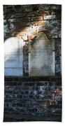Wall Of Tombstones Knocked Down During Civil War Beach Towel