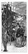 Wallpaper Printing, 1876 Beach Sheet