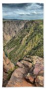 Walls Of The Black Canyon Beach Towel