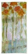 Waltz Of The Flowers Beach Towel