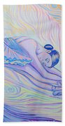 Warm And Secure Place For Your Soul Beach Towel