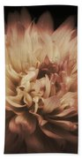 Warmth Of A Dahlia Beach Towel