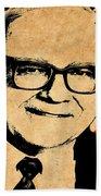 Warren Buffett Beach Towel