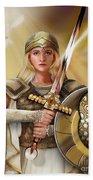 Warrior Bride Beach Sheet