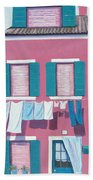 Washing Day Burano Venice Beach Sheet