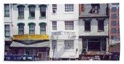 Washington Chinatown In The 1980s Beach Towel