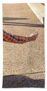 Washington Dc Tourists Love Squirrels Beach Towel