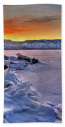 Washoe Ice Beach Towel