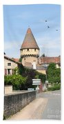 Watch Tower In Cluny Beach Towel