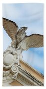 Watchful Eagle Beach Towel