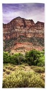Watchman Trail - Zion Beach Towel