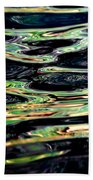Water Abstract Beach Towel