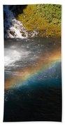 Water And Rainbow Beach Towel