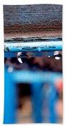 Water Blue  Beach Towel