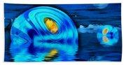 Water Homes Of The Sea Fairies Beach Sheet