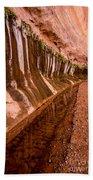 Water Is Life - Coyote Gulch - Utah Beach Towel