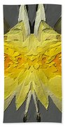 Water Lily Unleashed 4 Beach Towel