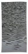 Water Lines Beach Towel