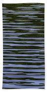 Water Pattern Beach Towel