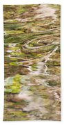 Water Reflection Beach Towel