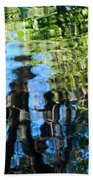 Water Reflections 1 Beach Towel