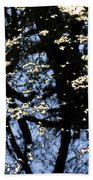 Water Reflections Beach Towel