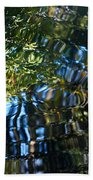 Water Reflections 7 Beach Towel