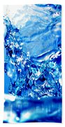 Water Refreshing Beach Towel by Michal Bednarek